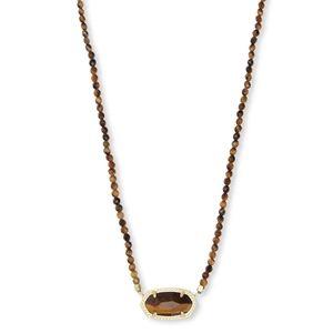 NWT Kendra Scott Elisa Gold Beaded Necklace